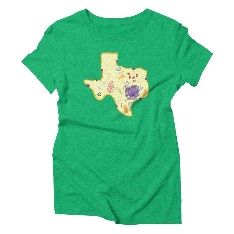 Cell Biyallogy Women's Triblend T-Shirt by Justin Tapp's Artist Shop