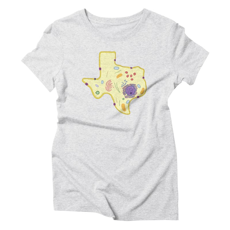 Cell Biyallogy Women's Triblend T-Shirt by justintapp's Artist Shop