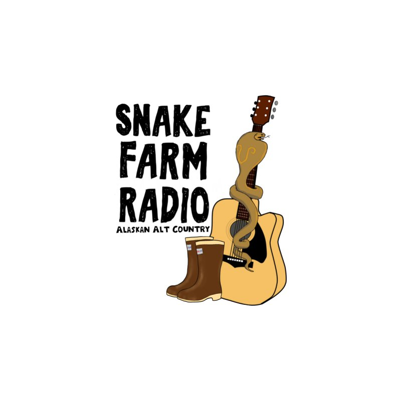 Snake Farm Radio Men's T-Shirt by Justin Tapp's Artist Shop