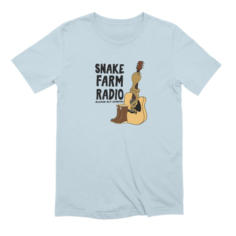 Snake Farm Radio Men's Extra Soft T-Shirt by Justin Tapp's Artist Shop