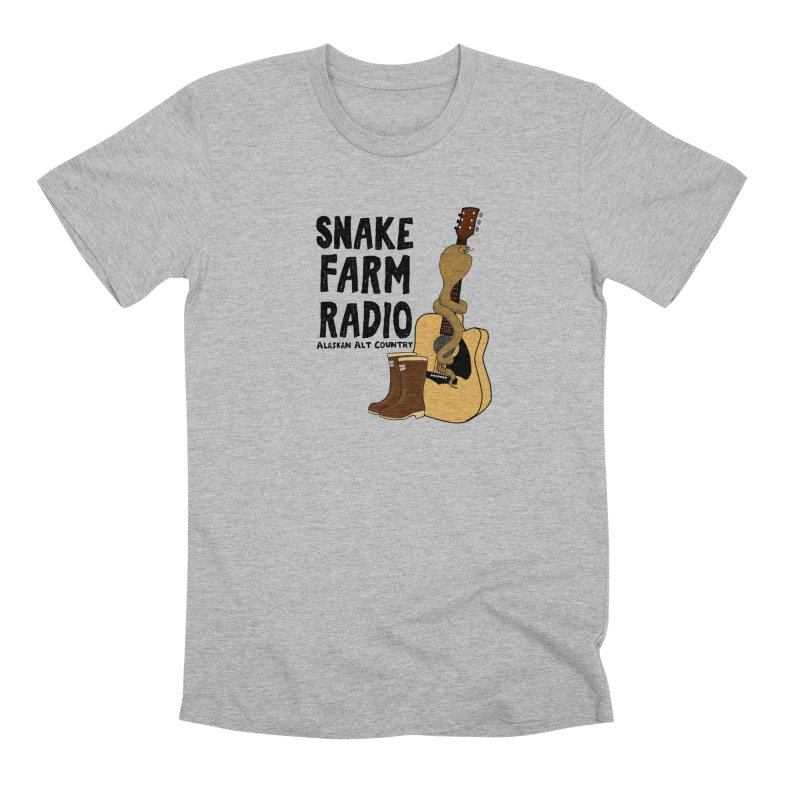 Snake Farm Radio Men's Premium T-Shirt by Justin Tapp's Artist Shop
