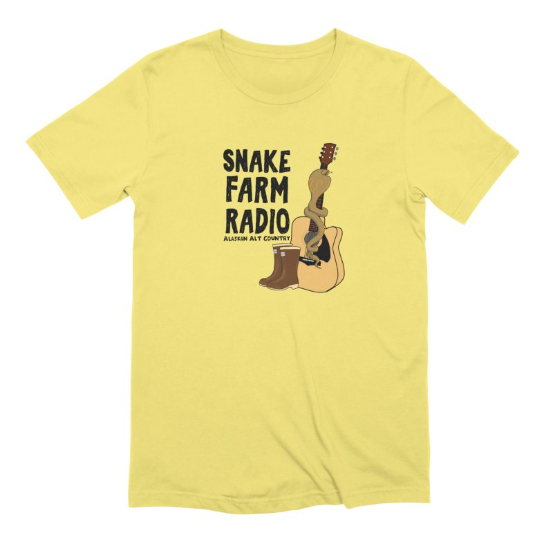 Snake Farm Radio Men's Extra Soft T-Shirt by justintapp's Artist Shop