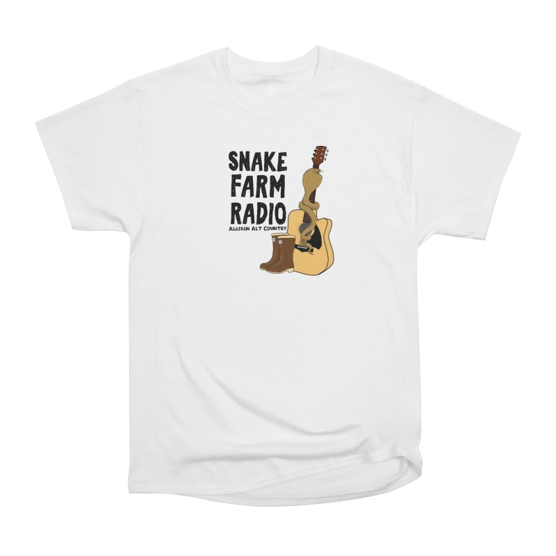 Snake Farm Radio Men's Heavyweight T-Shirt by Justin Tapp's Artist Shop