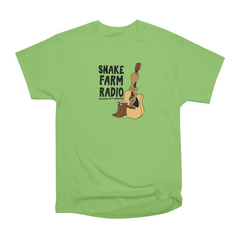 Snake Farm Radio Men's Heavyweight T-Shirt by Justin Tapp's Artist Shop