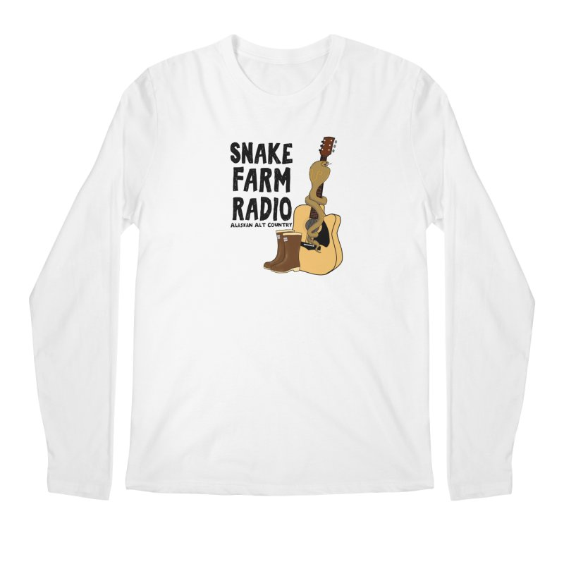 Snake Farm Radio Men's Regular Longsleeve T-Shirt by Justin Tapp's Artist Shop