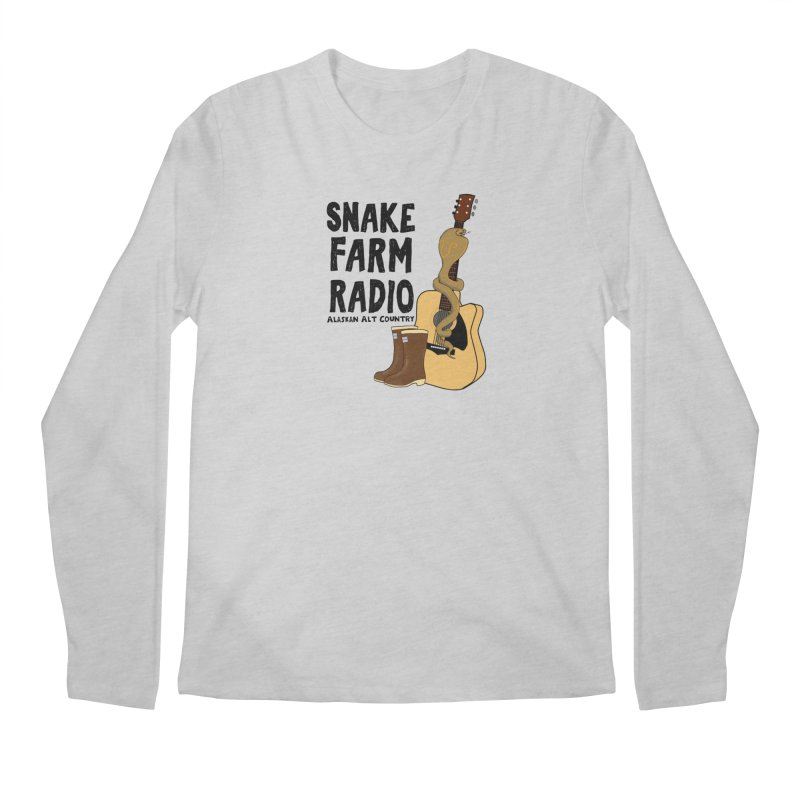 Snake Farm Radio Men's Regular Longsleeve T-Shirt by justintapp's Artist Shop