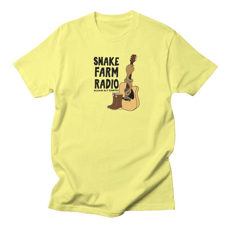 Snake Farm Radio Men's Regular T-Shirt by justintapp's Artist Shop