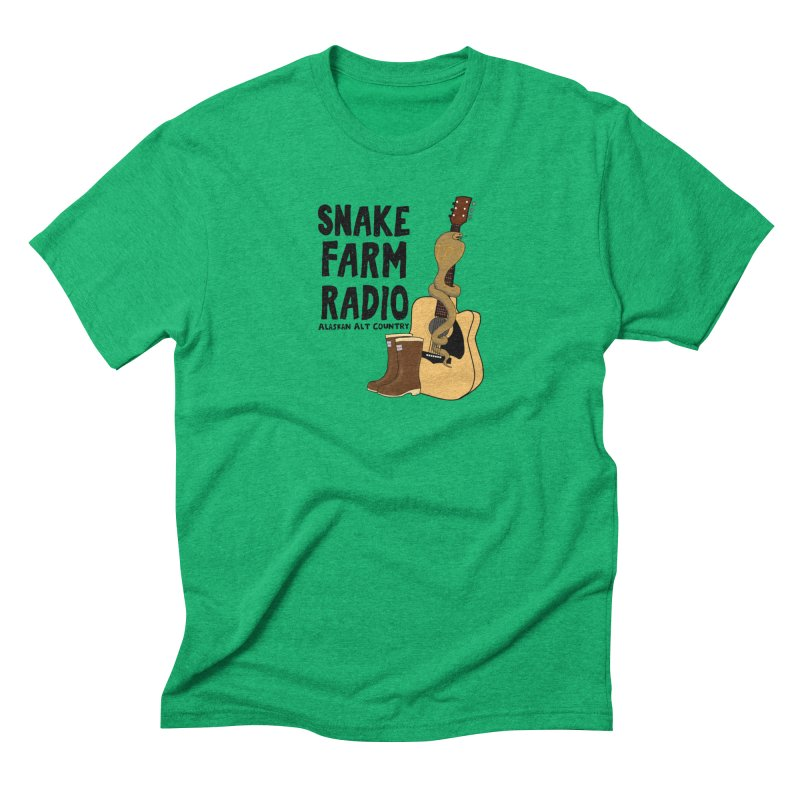 Snake Farm Radio Men's Triblend T-Shirt by Justin Tapp's Artist Shop