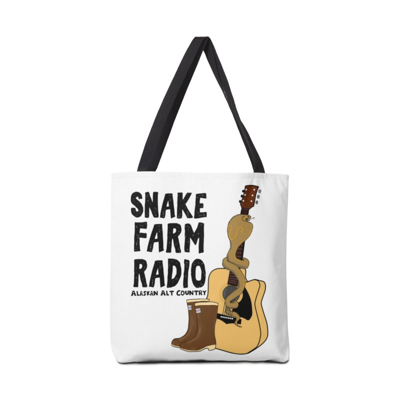 Snake Farm Radio Accessories Tote Bag Bag by Justin Tapp's Artist Shop