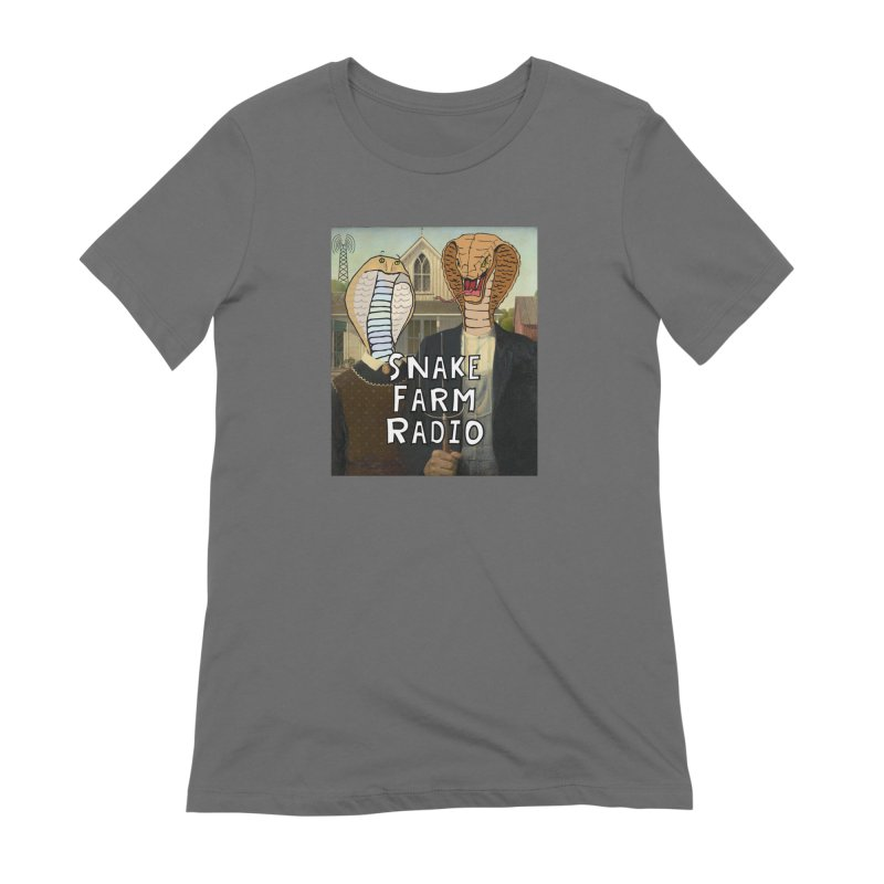 Snake Farm Radio Shirt Women's T-Shirt by Justin Tapp's Artist Shop