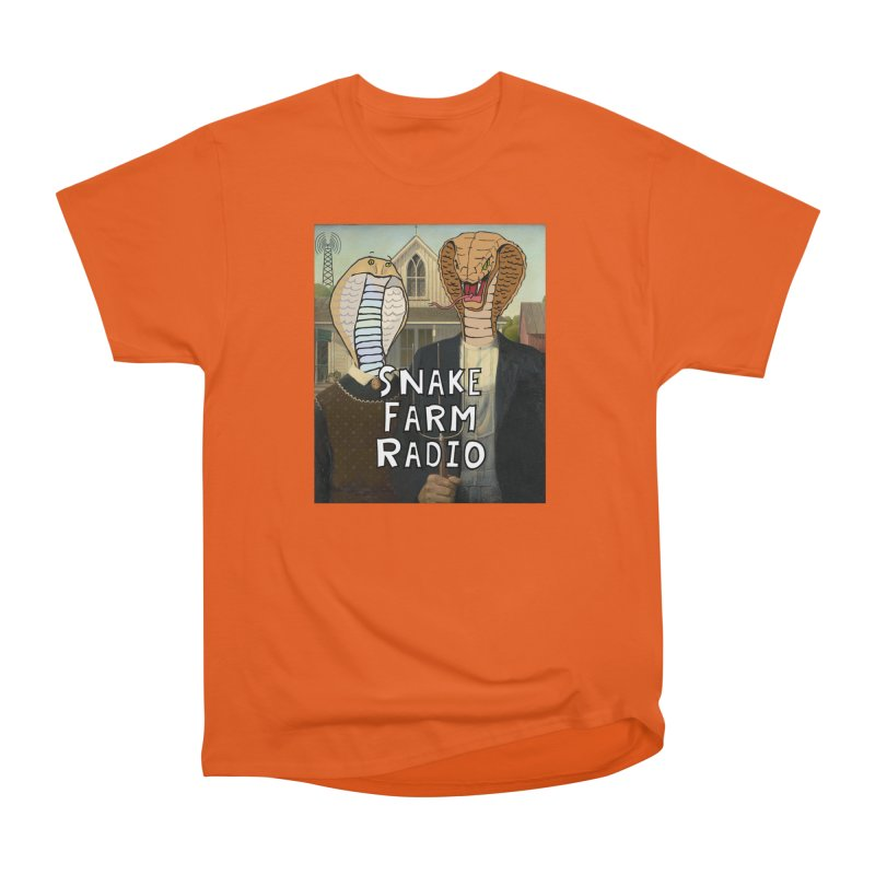Snake Farm Radio Shirt Women's T-Shirt by Justin Tapp's Artist Shop