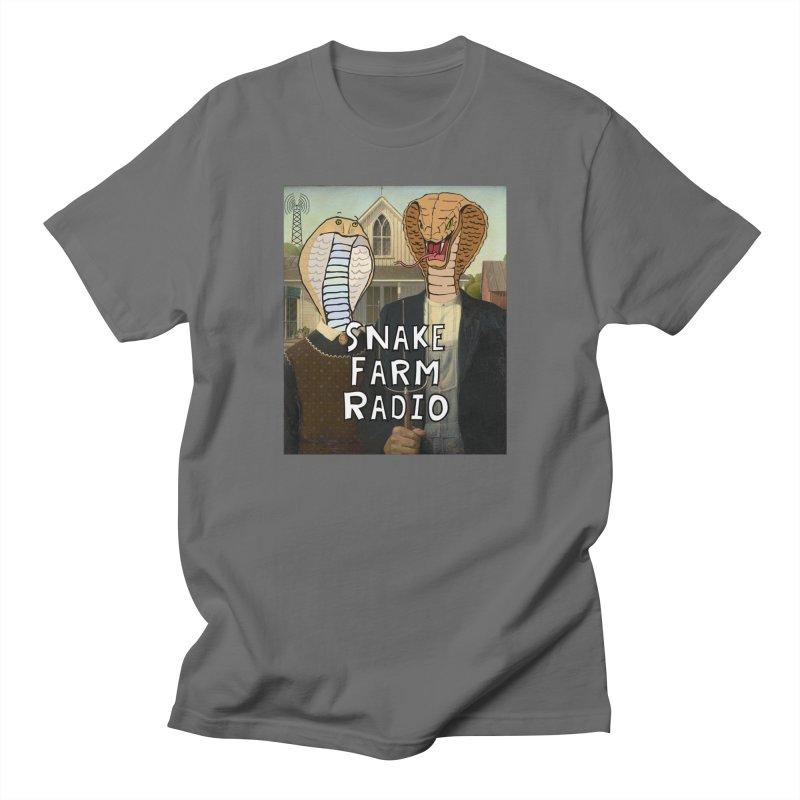 Snake Farm Radio Shirt Men's T-Shirt by Justin Tapp's Artist Shop