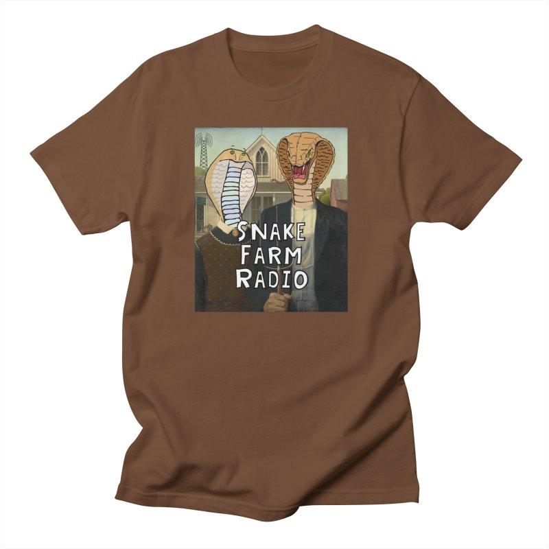 Snake Farm Radio Shirt Men's Regular T-Shirt by justintapp's Artist Shop