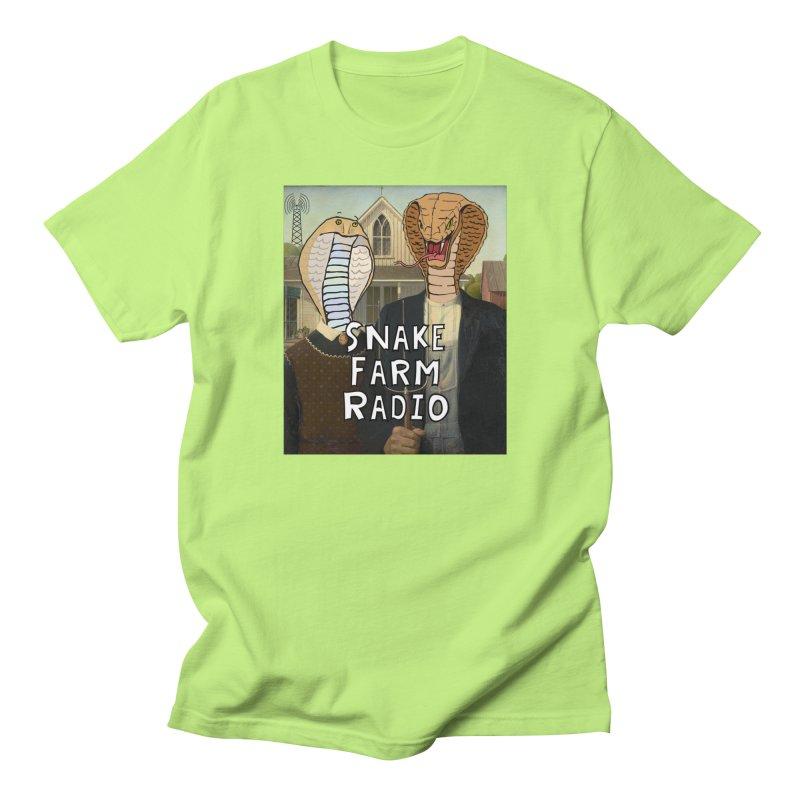 Snake Farm Radio Shirt Women's Regular Unisex T-Shirt by Justin Tapp's Artist Shop