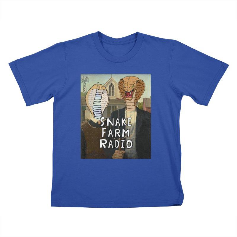 Snake Farm Radio Shirt Kids T-Shirt by justintapp's Artist Shop