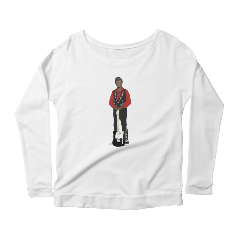Conye Tweezy Women's Scoop Neck Longsleeve T-Shirt by Justin Tapp's Artist Shop