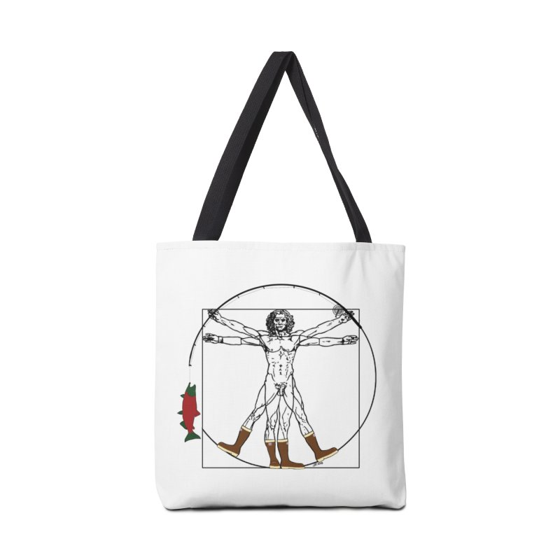 Vitruvian Alaskan Accessories Bag by Justin Tapp's Artist Shop