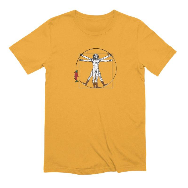 Vitruvian Alaskan Men's Extra Soft T-Shirt by Justin Tapp's Artist Shop