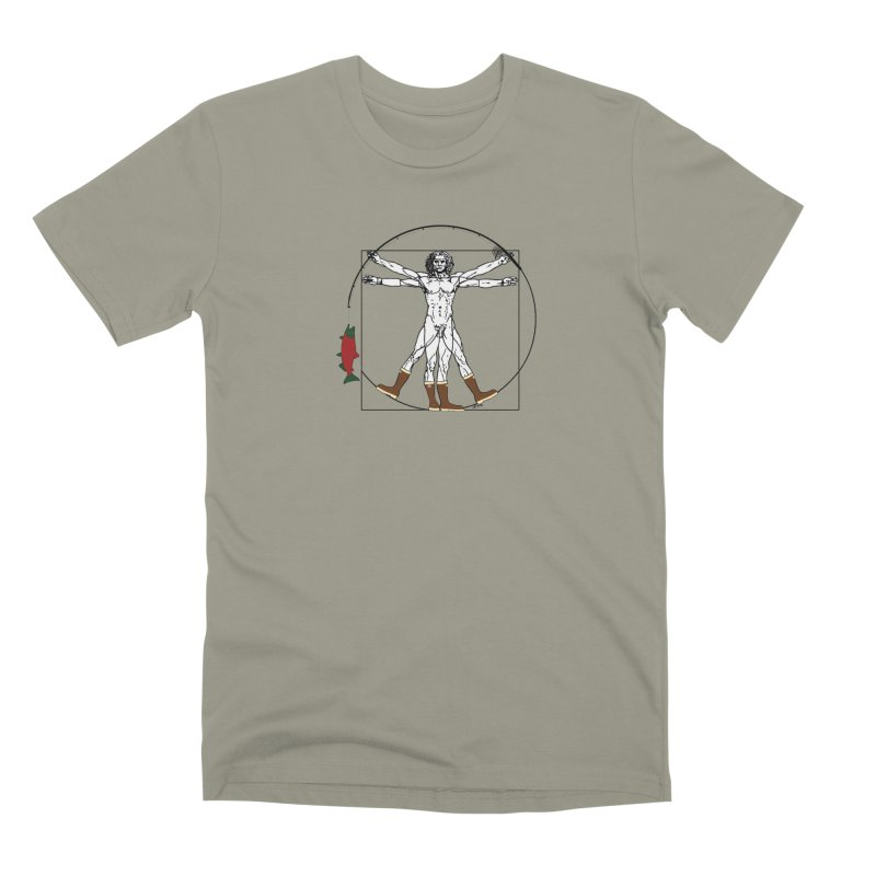 Vitruvian Alaskan Men's Premium T-Shirt by Justin Tapp's Artist Shop