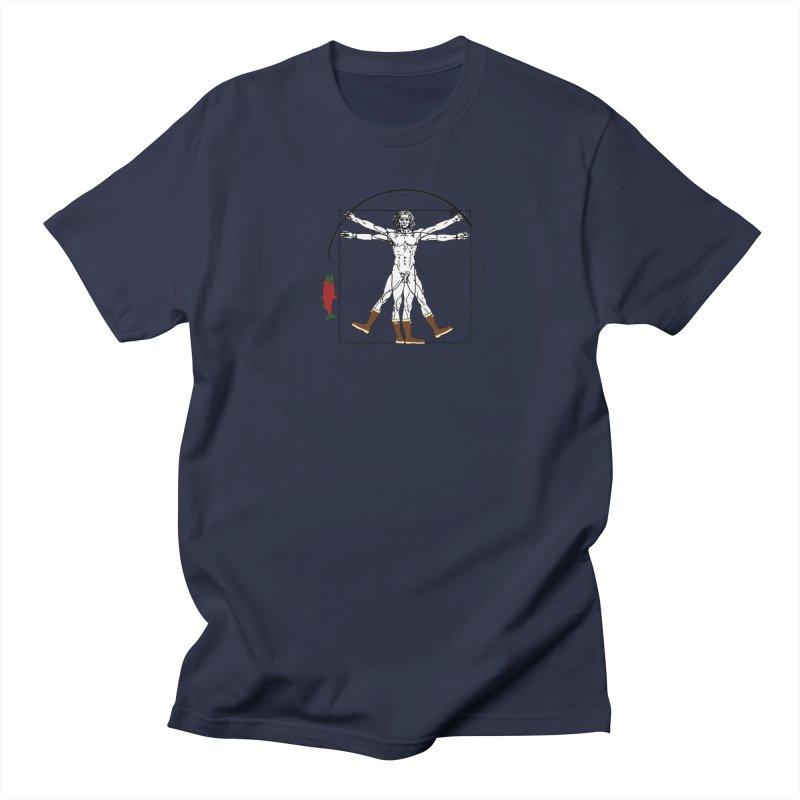 Vitruvian Alaskan Men's Regular T-Shirt by Justin Tapp's Artist Shop