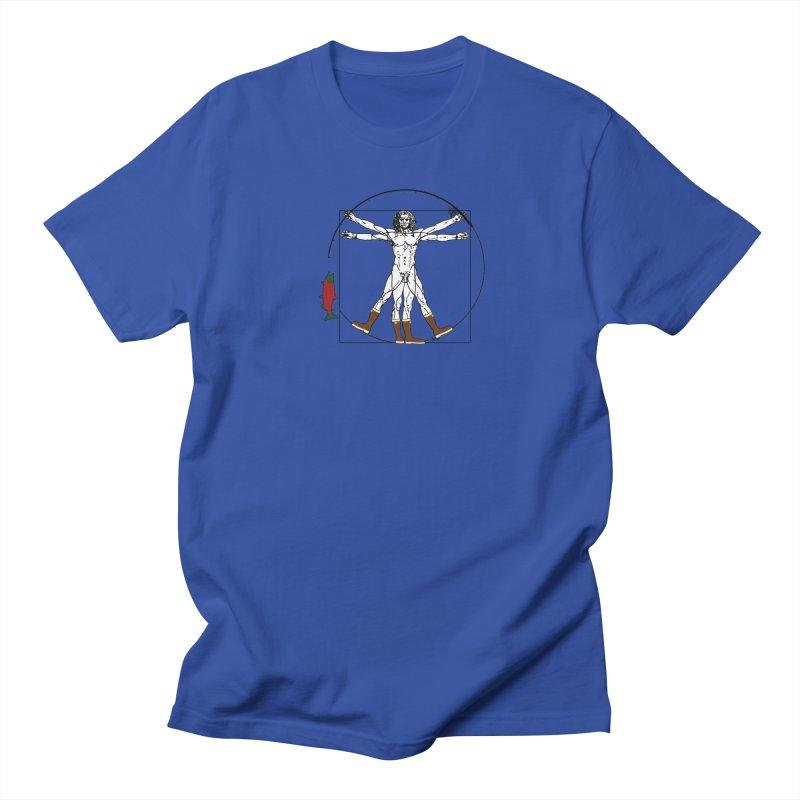 Vitruvian Alaskan Women's Regular Unisex T-Shirt by Justin Tapp's Artist Shop