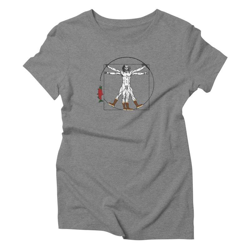 Vitruvian Alaskan Women's Triblend T-Shirt by justintapp's Artist Shop