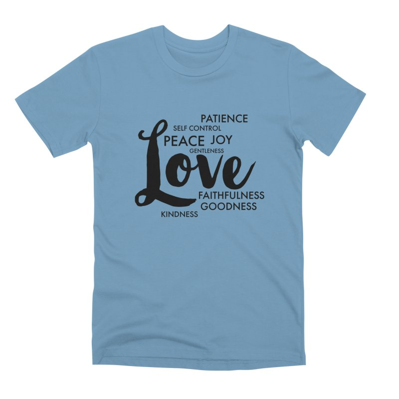Fruits of the Spirit Men's Premium T-Shirt by Justin Whitcomb's Artist Shop