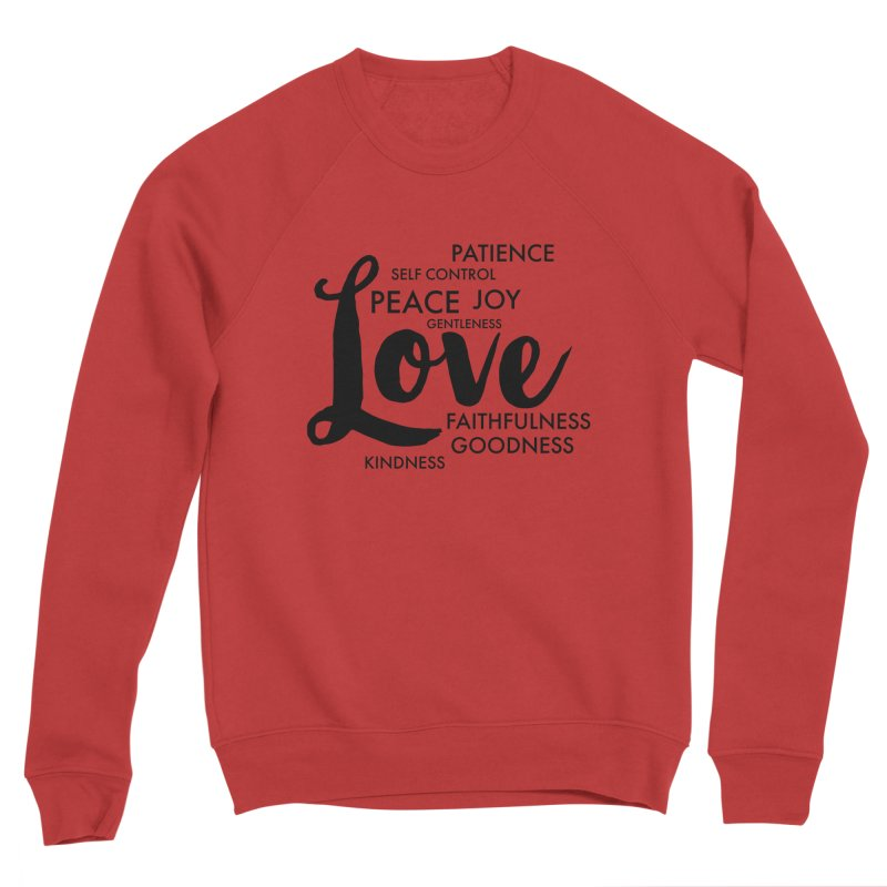 Fruits of the Spirit Women's Sponge Fleece Sweatshirt by Justin Whitcomb's Artist Shop
