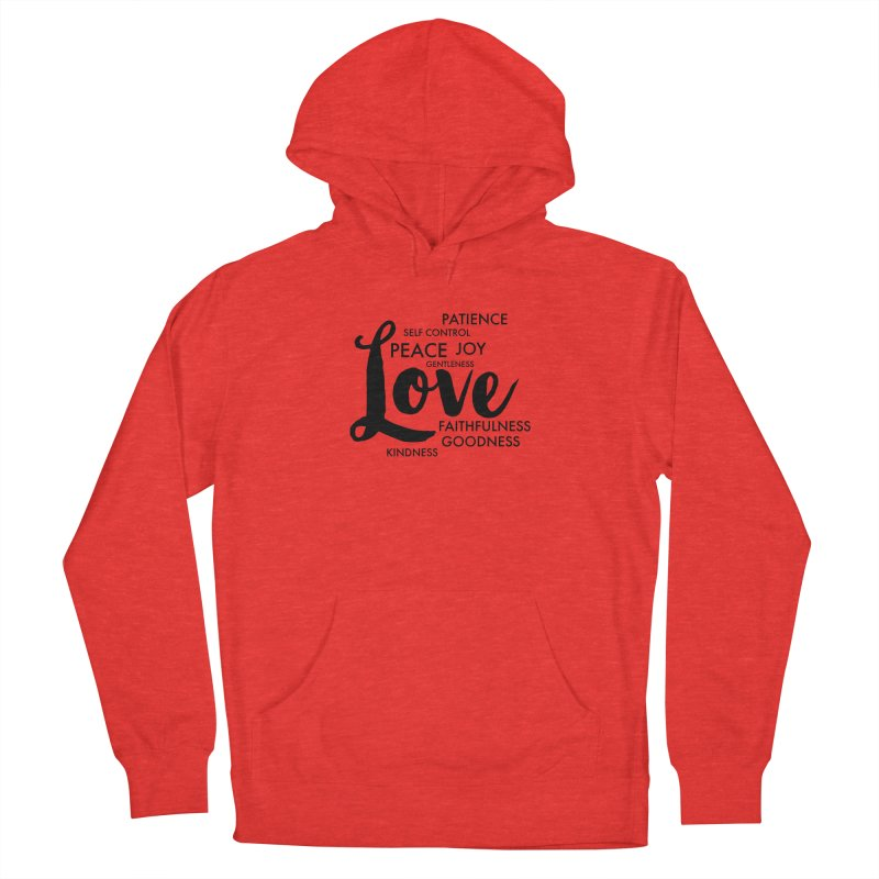 Fruits of the Spirit Women's Pullover Hoody by Justin Whitcomb's Artist Shop