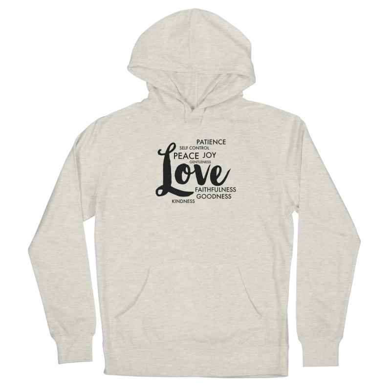 Fruits of the Spirit Women's French Terry Pullover Hoody by Justin Whitcomb's Artist Shop