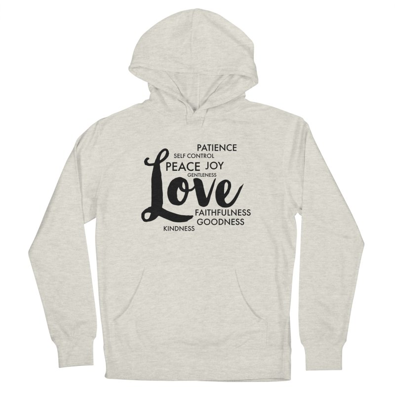 Fruits of the Spirit Men's French Terry Pullover Hoody by Justin Whitcomb's Artist Shop