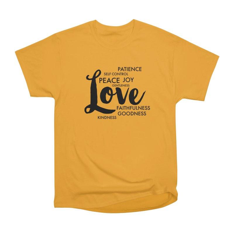 Fruits of the Spirit Women's Heavyweight Unisex T-Shirt by Justin Whitcomb's Artist Shop