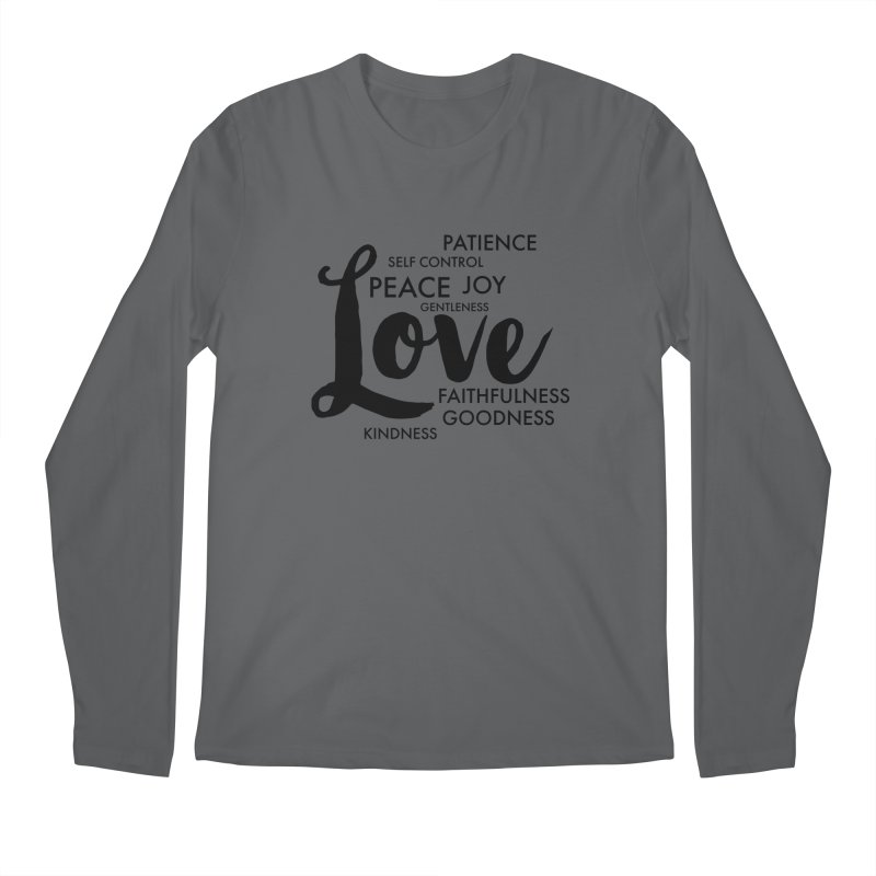 Fruits of the Spirit Men's Longsleeve T-Shirt by Justin Whitcomb's Artist Shop