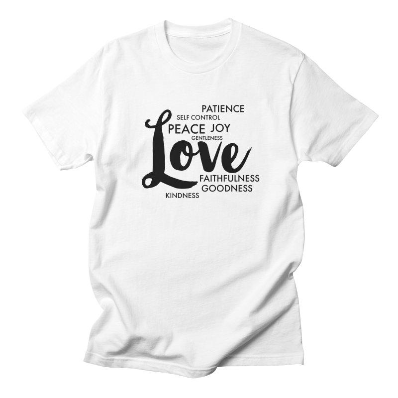 Fruits of the Spirit Women's Regular Unisex T-Shirt by Justin Whitcomb's Artist Shop