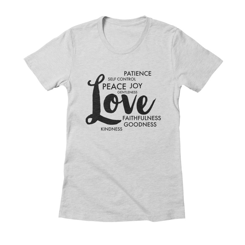 Fruits of the Spirit Women's T-Shirt by Justin Whitcomb's Artist Shop