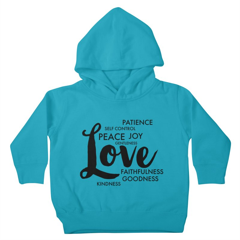 Fruits of the Spirit Kids Toddler Pullover Hoody by Justin Whitcomb's Artist Shop