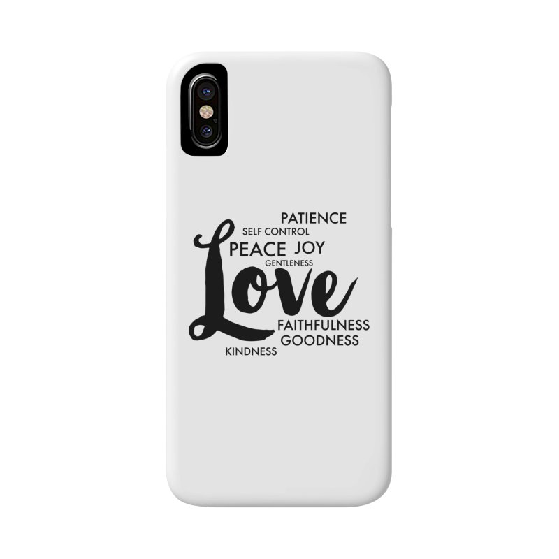 Fruits of the Spirit Accessories Phone Case by Justin Whitcomb's Artist Shop