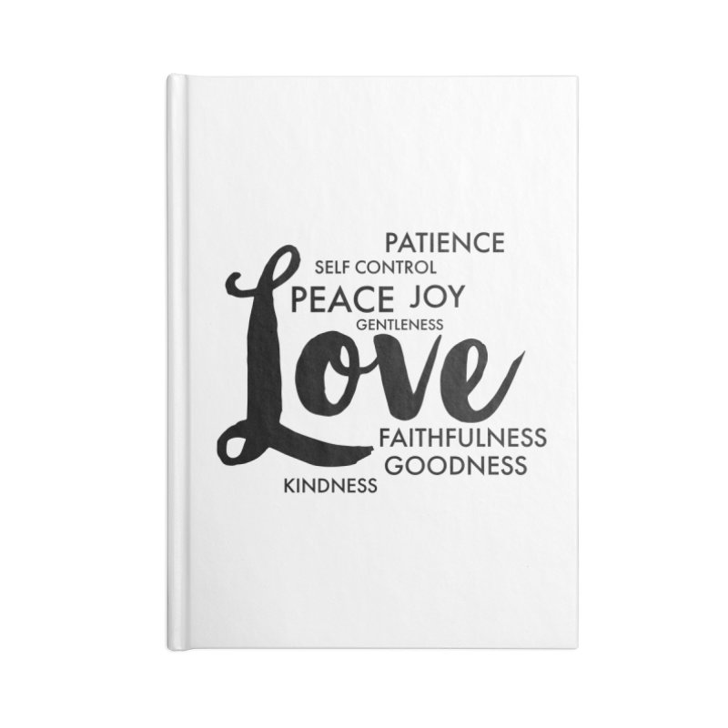 Fruits of the Spirit Accessories Notebook by Justin Whitcomb's Artist Shop