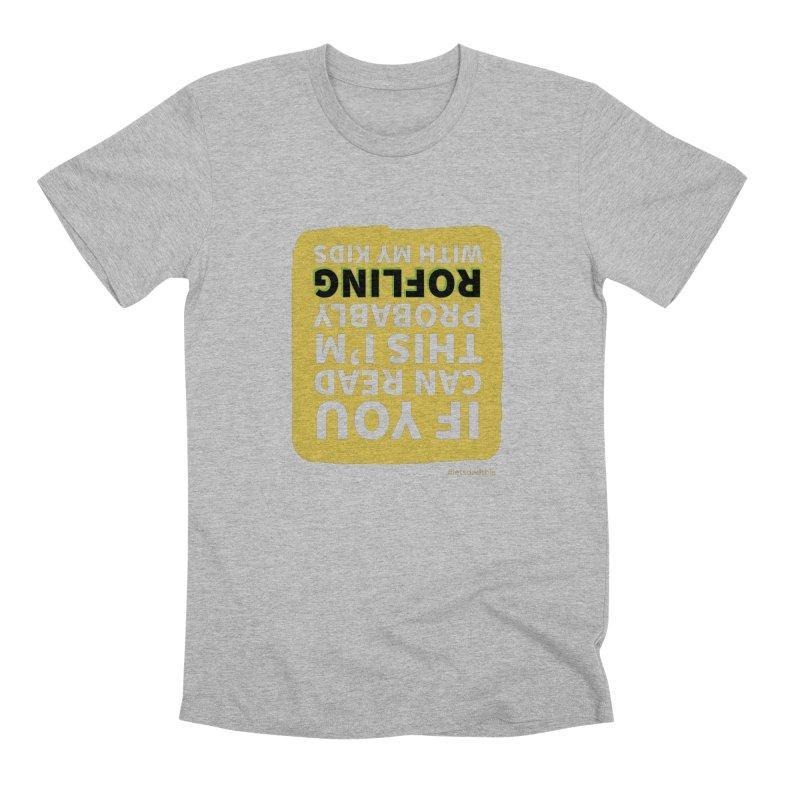 ROFLing Men's T-Shirt by Justin Whitcomb's Artist Shop