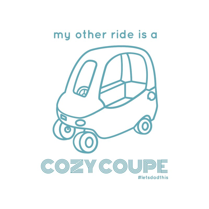 Cozy Coupe Kids T-Shirt by Justin Whitcomb's Artist Shop