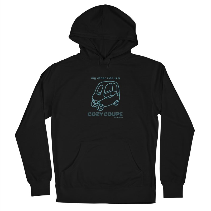 Cozy Coupe Women's French Terry Pullover Hoody by Justin Whitcomb's Artist Shop