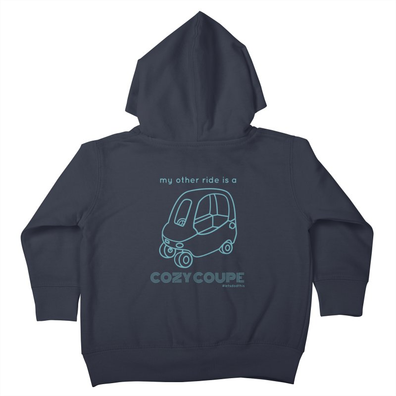 Cozy Coupe Kids Toddler Zip-Up Hoody by Justin Whitcomb's Artist Shop
