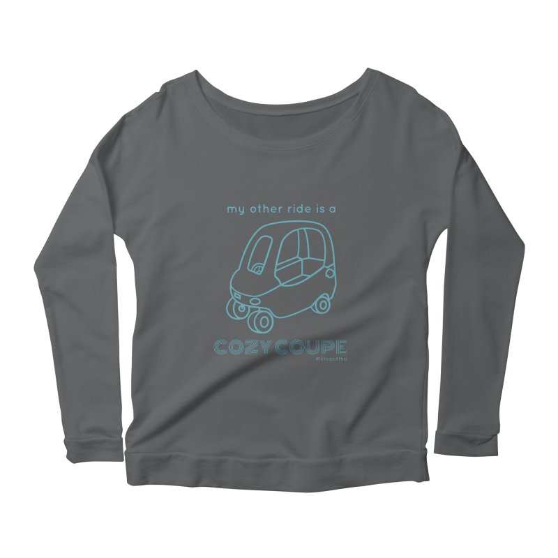 Cozy Coupe Women's Longsleeve T-Shirt by Justin Whitcomb's Artist Shop