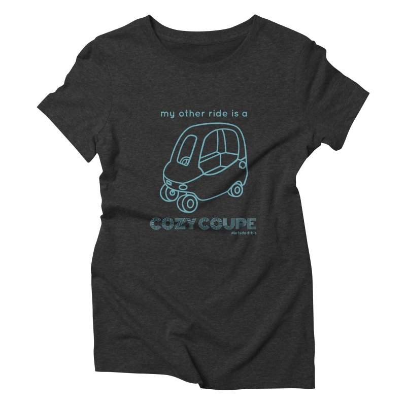 Cozy Coupe Women's Triblend T-Shirt by Justin Whitcomb's Artist Shop
