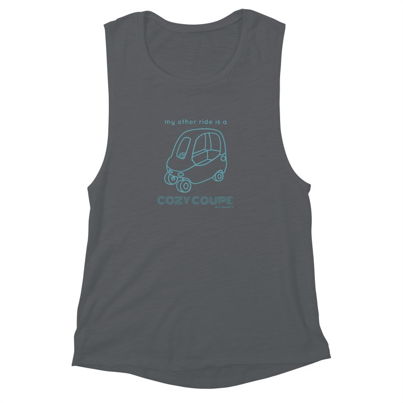 Cozy Coupe Women's Muscle Tank by Justin Whitcomb's Artist Shop