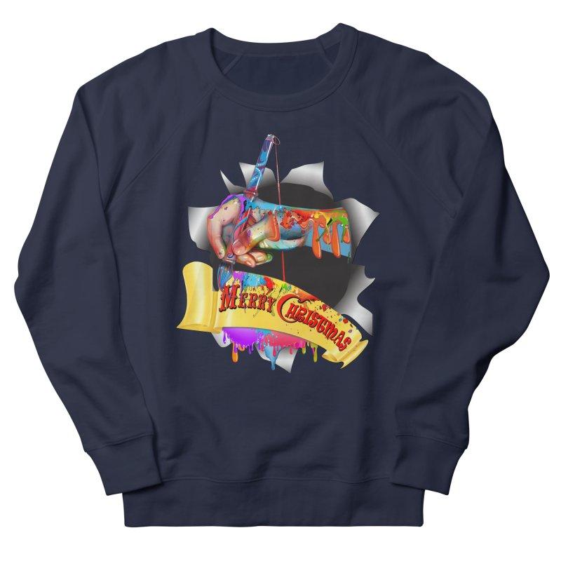 Marry Christmas Artist Women's Sweatshirt by NadineMay Artist Shop