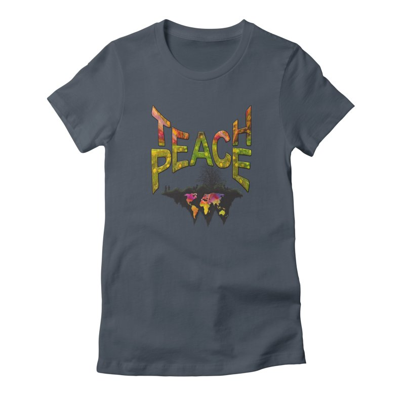 Teach Peace Women's Lounge Pants by NadineMay Artist Shop