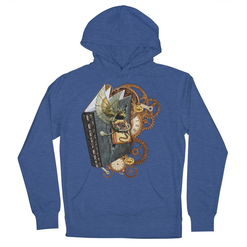 Steampunk Dragon Stories Women's Pullover Hoody by NadineMay Artist Shop