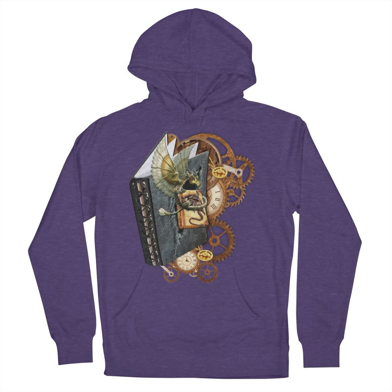 Steampunk Dragon Stories Men's Pullover Hoody by NadineMay Artist Shop