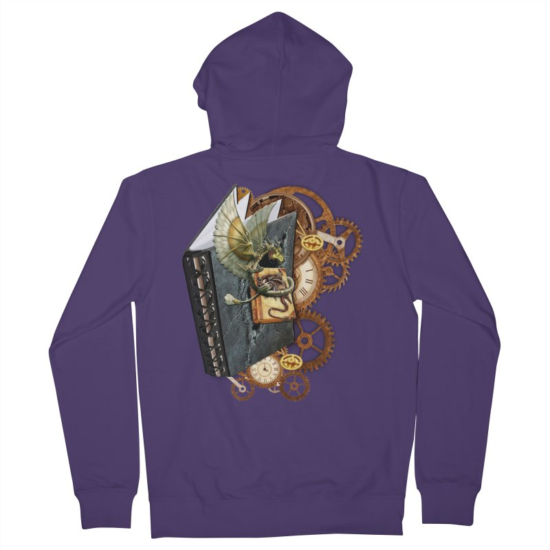 Steampunk Dragon Stories Women's Zip-Up Hoody by NadineMay Artist Shop